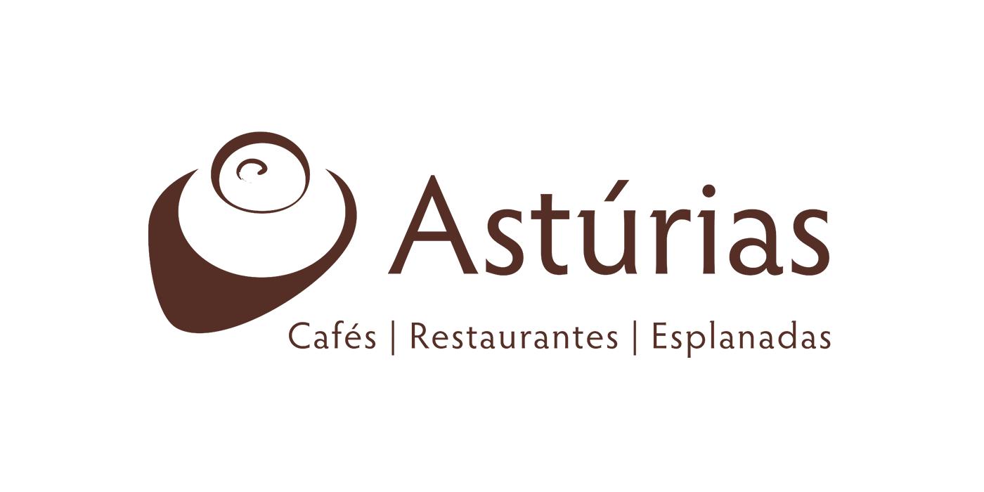Asturias café logo