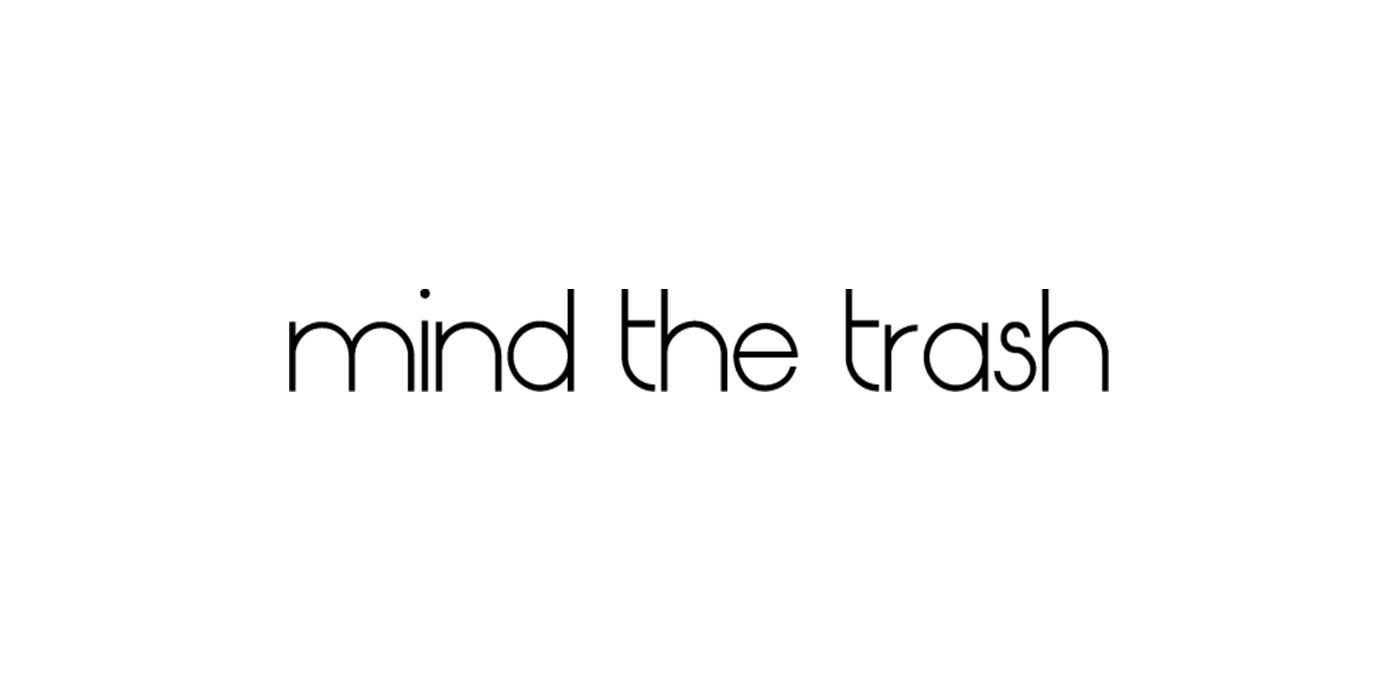 Mind The Trash Logo