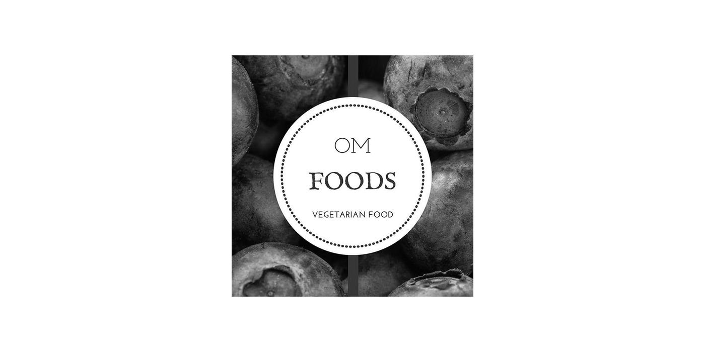 OM FOODS Logo